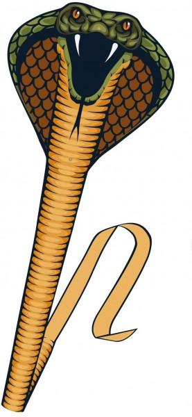 Paul Günther 1154 - Einleinerdrachen Cobra, Drachen in Form einer Schlange, eindrucksvoller Silhouet