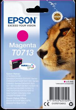 Original Epson Patrone T0713 für Stylus D78 D92 DX4000 etc. magenta