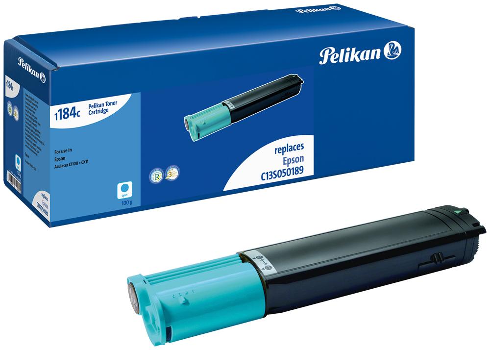 Pelikan Toner 1184 komp. zu C13S050189 Epson AcuLaser C1100 cyan