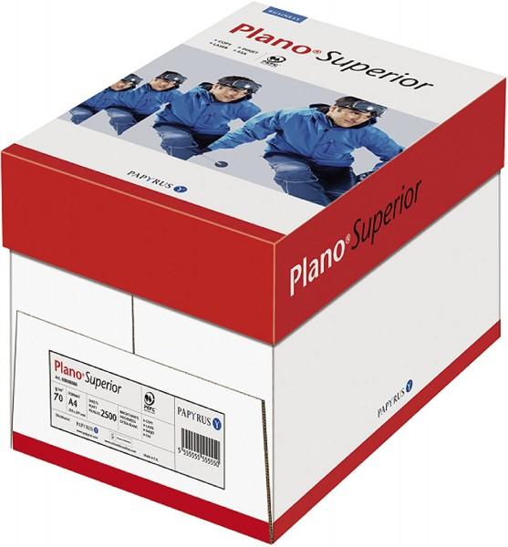 Papyrus 88039666 Drucker-/Kopierpapier PlanoSuperior, 70 g/qm, DIN-A4, 2500 Blätter/5 Ries = 1 Karto
