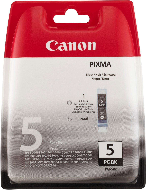 Vorschau: Original Canon PGI-5BK Patrone Pixma iP 3500 4200 4300 black