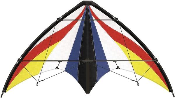 Paul Günther 1029 - Sportlenkdrachen Spirit 125 GX, Drachen für Anfänger, Segel aus reißfestem Ripst