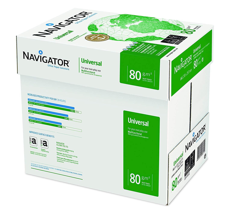 Vorschau: Navigator Universal Kopierpapier 80g/m² DIN-A4 2500 Blatt weiß