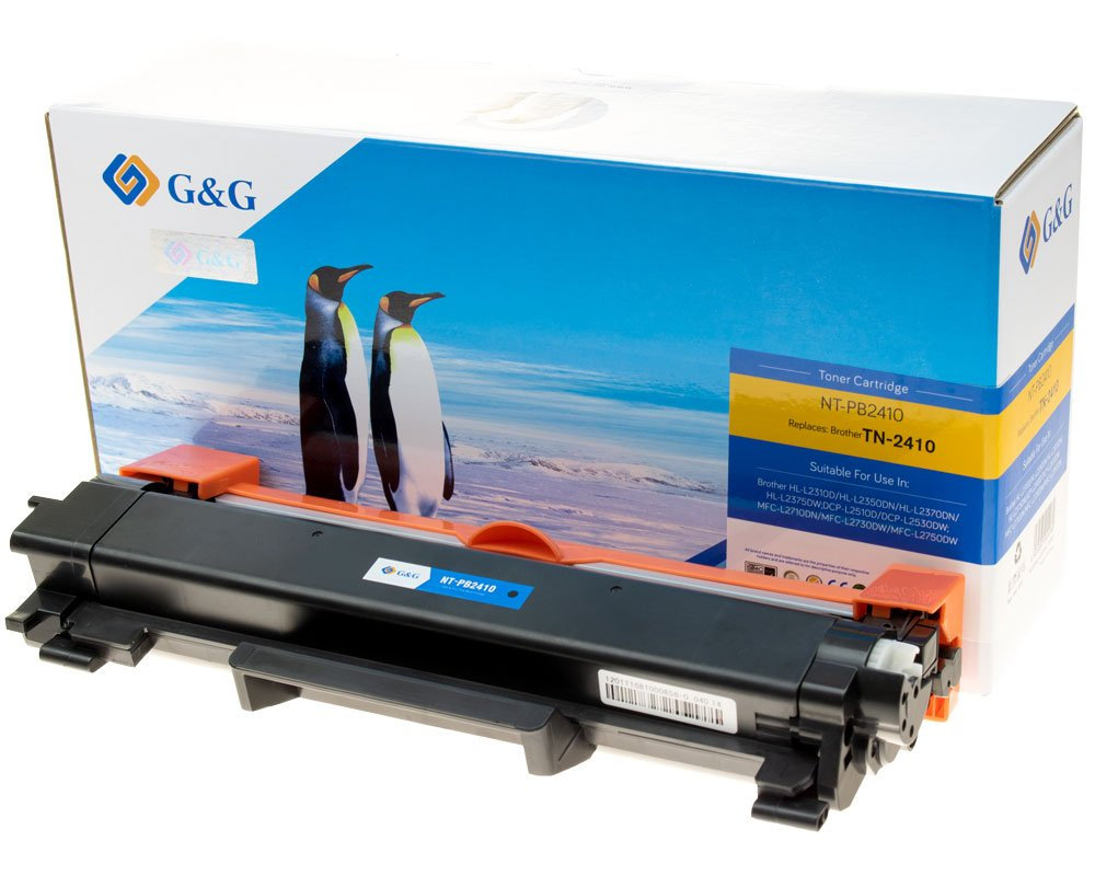 G&G Image Toner kompatibel zu Brother TN-2410 Schwarz