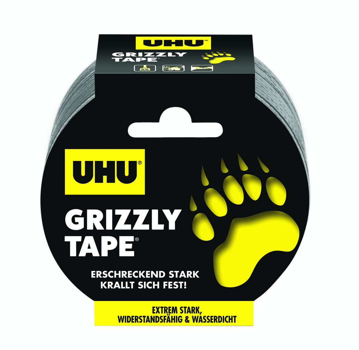 GP:0,48 €/m UHU Grizzly Tape 25 Meter