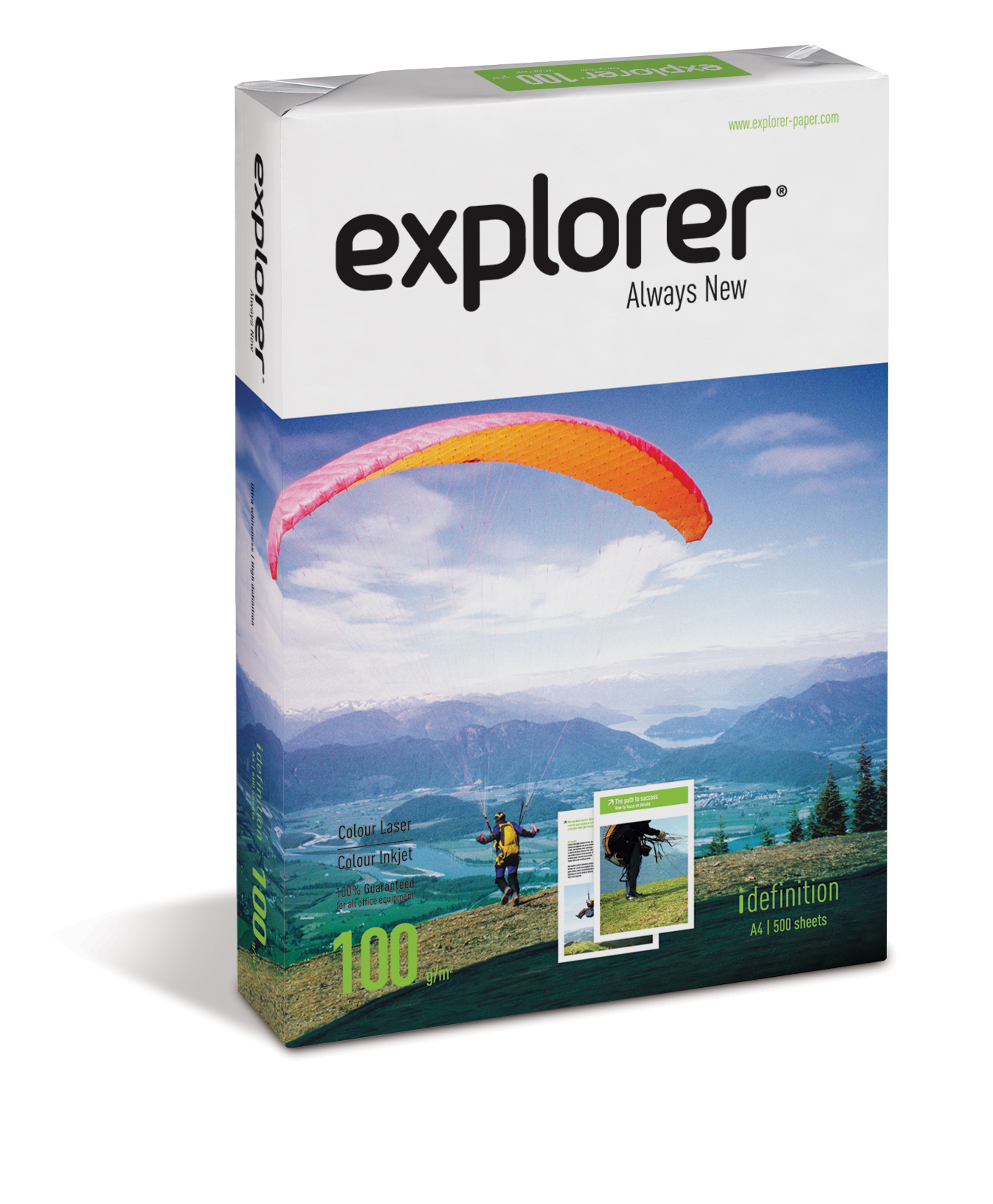 Vorschau: Explorer Always New 100g/m² Papier DIN-A4 - 500 Blatt weiß