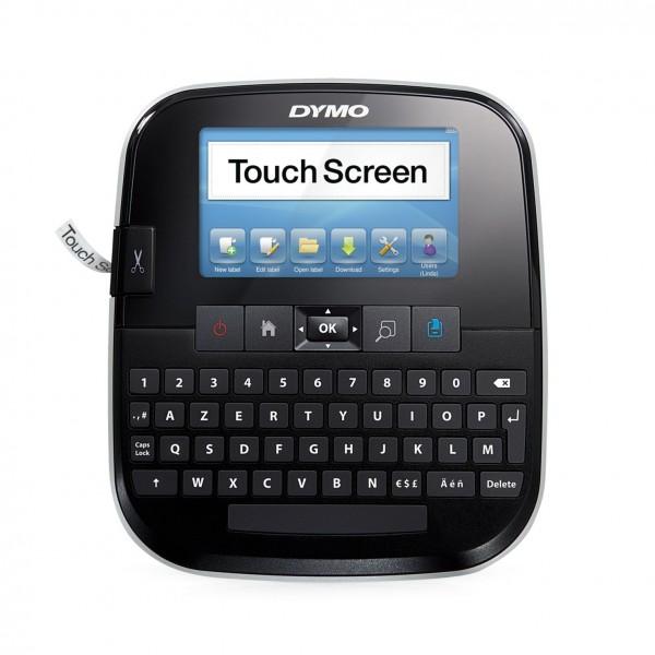 Dymo LabelManager 500 TS Touchscreen Etikettiergerät (PC- oder Mac-Anbindung Bandsystem, D1-Bänder: