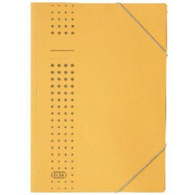 Elba Eckspanner chic, Karton (RC), 450 g/qm, A4, gelb