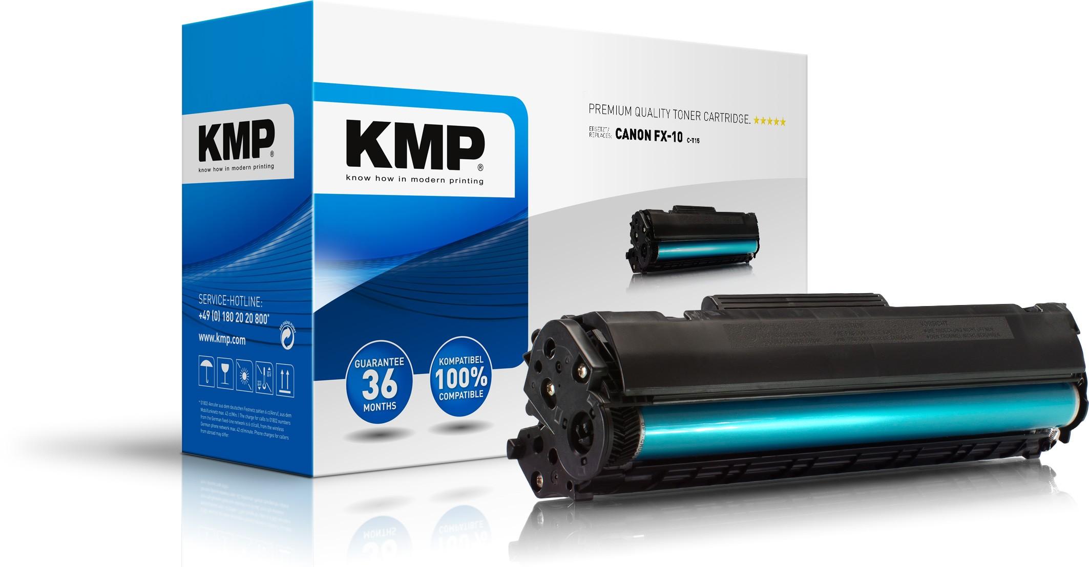 KMP Toner für Canon FX-10 Laserfax L100 / L120 schwarz C-T15