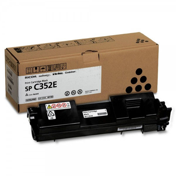 Original RICOH Toner 408215 für SP C352E black / schwarz