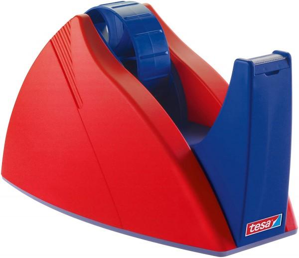 tesa FILM Tischabroller Easy Cut Professional rot/blau für max 25mm x 66m