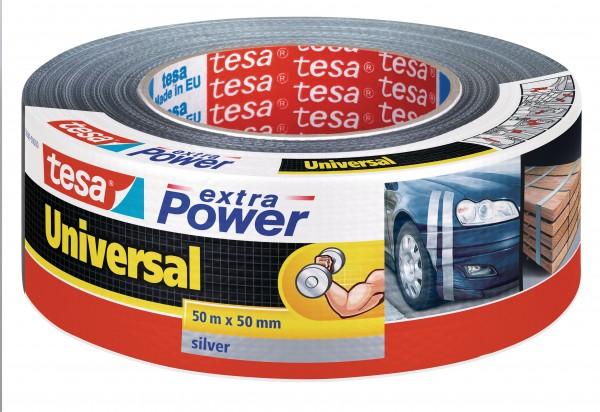 GP: 0,13 EUR/m tesa extra Power Universal silber 50m x 50mm