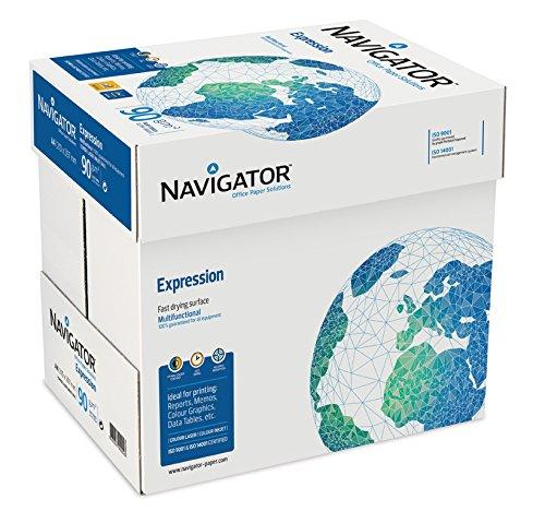 80.000 Blatt NAVIGATOR Expression InkJet 90g/m² DIN-A4 weiß Palette