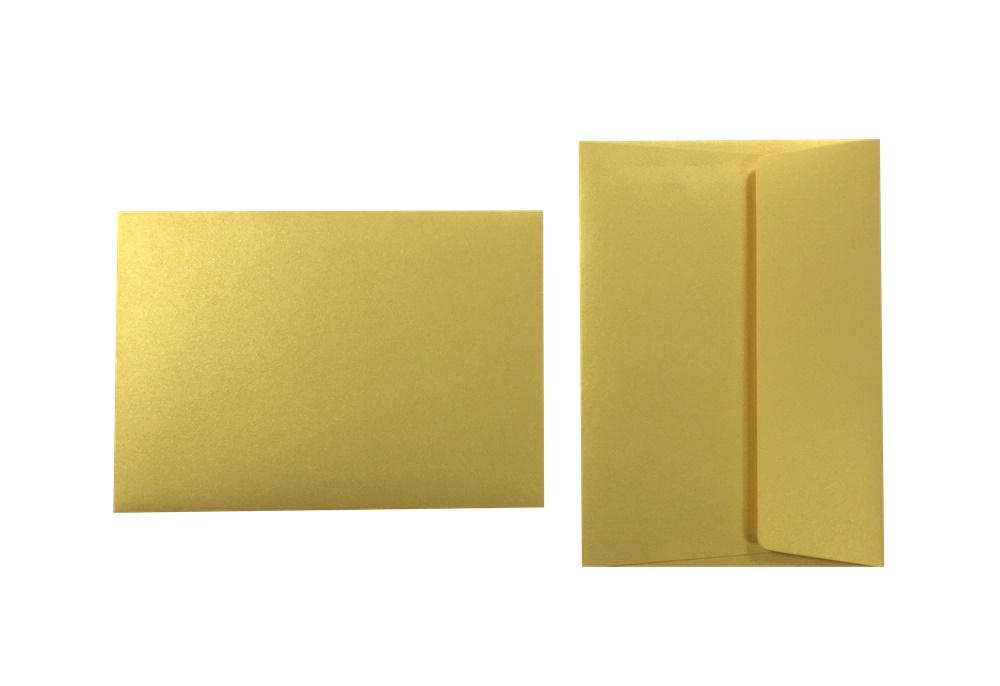 Inapa Shyne Umschläge C6 Golden Yellow 120g/m² 100 Stück