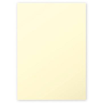 Clairefontaine Pollen Papier Kanariengelb 120g/m² DIN-A4 50 Blatt