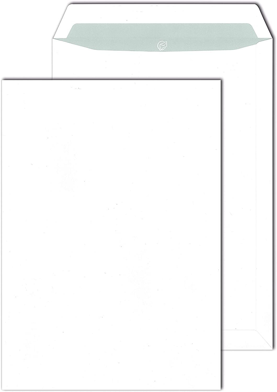 MAILmedia Versandtaschen DIN C4 haftklebend Offset weiß 90 g/m²