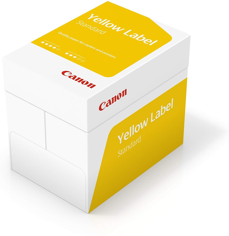 Canon Deutschland Yellow Label Standard Multifunktionspapier, 5x500 Blatt EU Umweltzeichen, alle Dru
