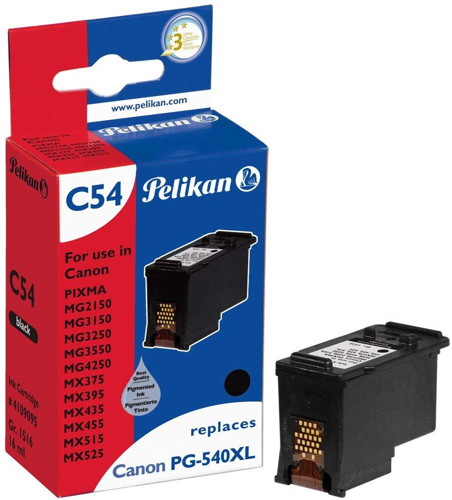 Pelikan Tintenpatrone ersetzt Canon PG-540XL, Black, 766 Seiten