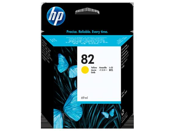 HP Patrone C4913A Nr. 82 yellow für Designjet 500 /800