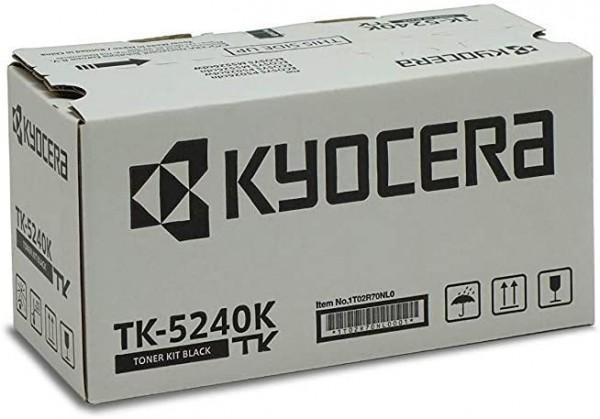 Kyocera TK-5240K Original Toner-Kartusche Schwarz, 1T02R70NL0. Für ECOSYS M5526cdn, ECOSYS M5526cdw,