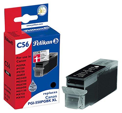 Pelikan Patrone C56 komp. zu PGI-550PGBK XL Canon Pixma iP7250 etc.