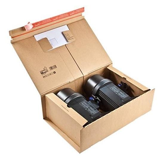 ColomPac® Paket Versandkarton 515 x 335 x 170 mm, braun - 10er Pack