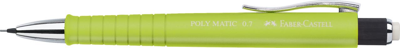 Faber-Castell Druckbleistift Poly Matic - 0,7 mm, B, limette