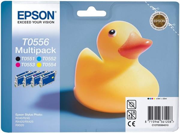 Original EPSON C13T05564010 Original Tintenpatronen 4er Pack