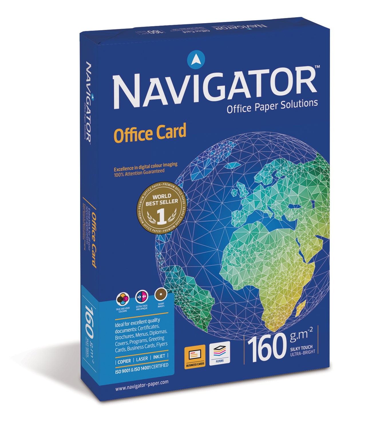 Navigator Office Card 160g/m² DIN-A3