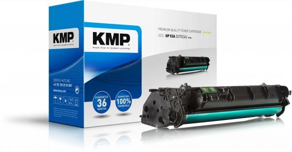 KMP Toner kompatibel mit HP 53A (Q7553A) Laserjet P2015 schwarz H-T86