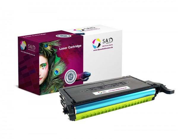SAD Toner für Samsung CLT-Y5082L CLP-620 / ND 670 / N / ND etc. yellow