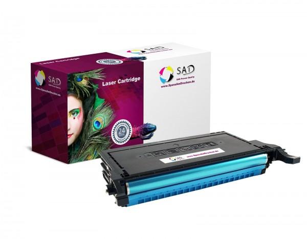 SAD Toner für Samsung CLT-C5082L CLP-620 / ND 670 / N / ND etc. cyan
