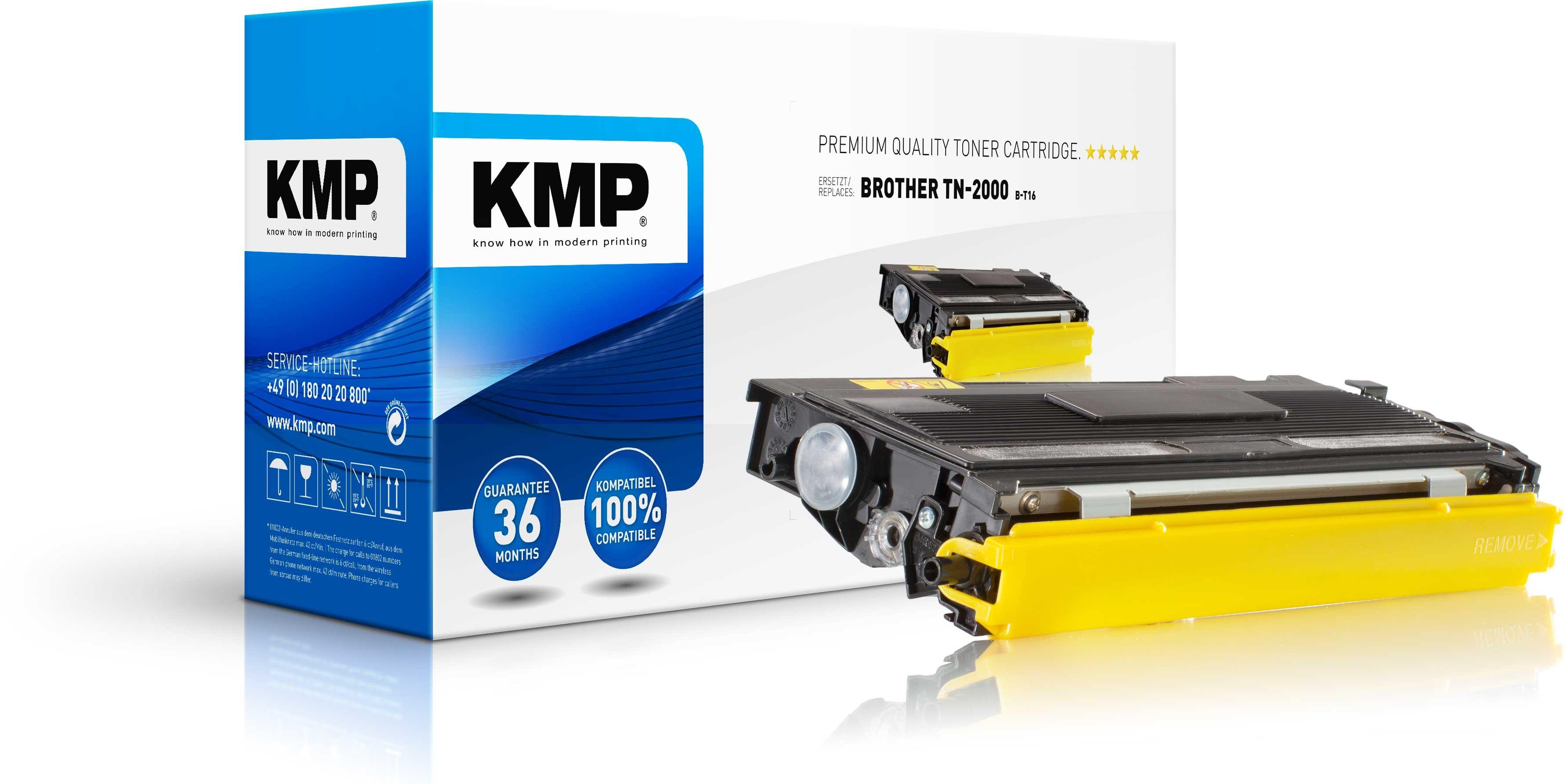 Vorschau: KMP Toner für Brother TN-2000 HL 2030 2040 2070N Fax 2820 XXL