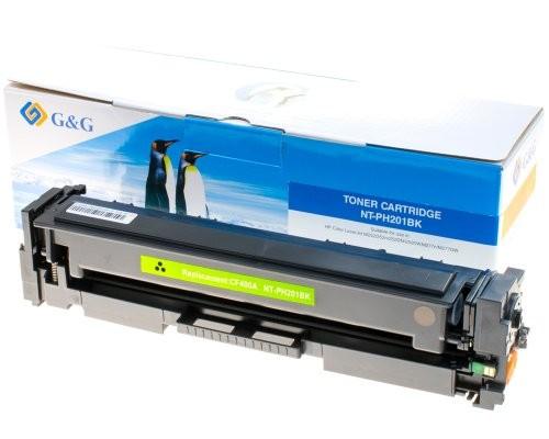 G&G Toner kompatibel zu HP 201A/ CF400A Schwarz