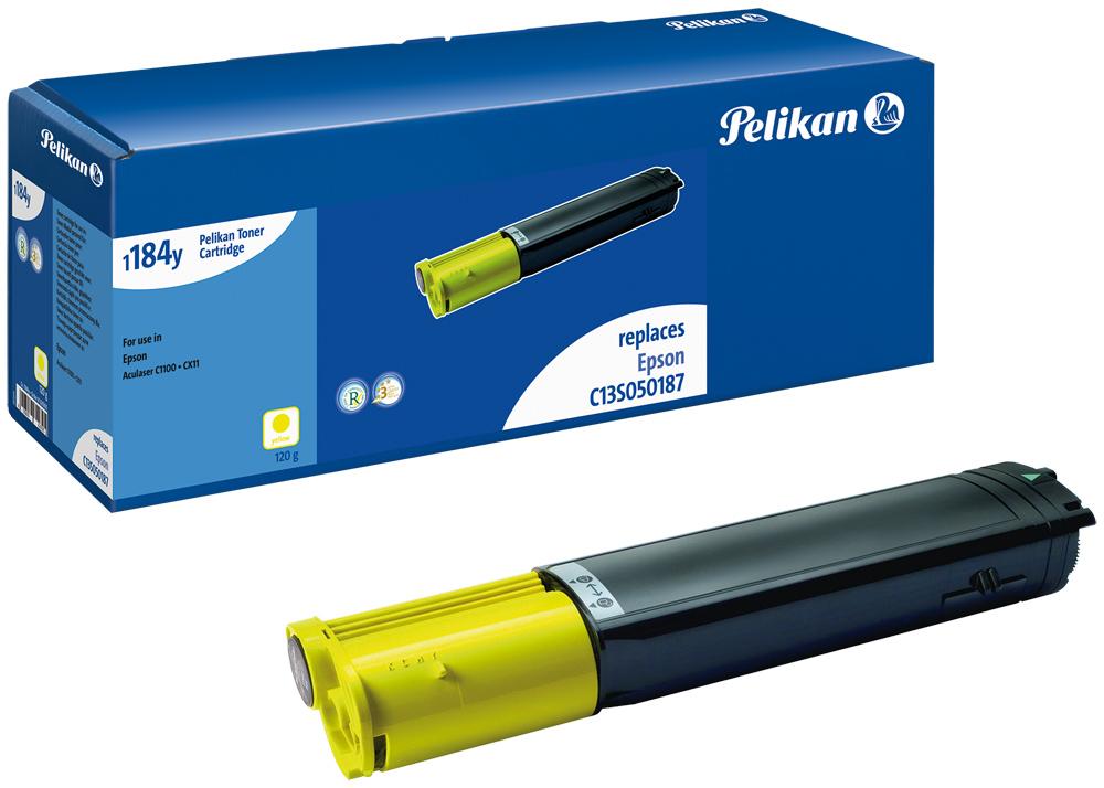 Pelikan Toner 1184 komp. zu C13S050187 Epson AcuLaser C1100 yellow