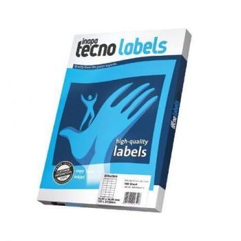 tecno labels Universaletiketten weiß 100 Blatt (105 x 148,5 mm)
