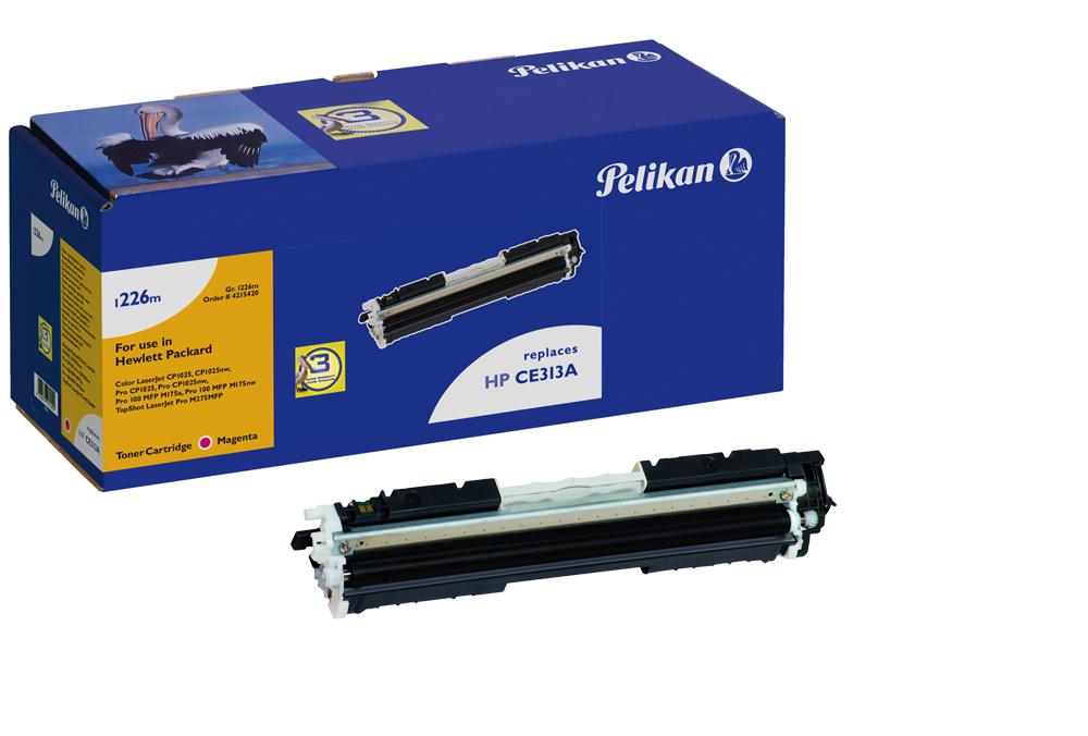 Pelikan Toner 1226 für HP CE313A Color Laserjet CP1025 etc. magenta