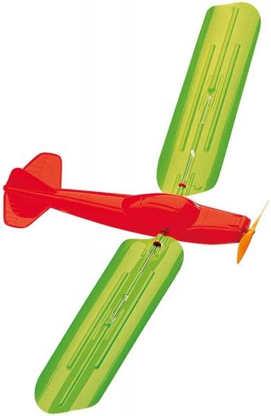 Paul Günther 1331 - Drachenspiel Turboprop, mit 100 m Zugschnurr, aus weichem EVA-Material, ca. 48 x