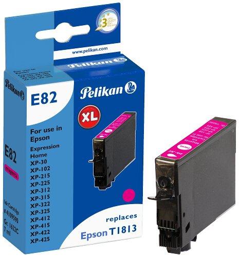 Pelikan Patrone E82 komp. zu Epson T1813 XP-30 / 102 etc. magenta