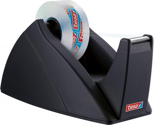 tesa FILM Easy Cut Tischabroller schwarz für max 33m x 19mm leer