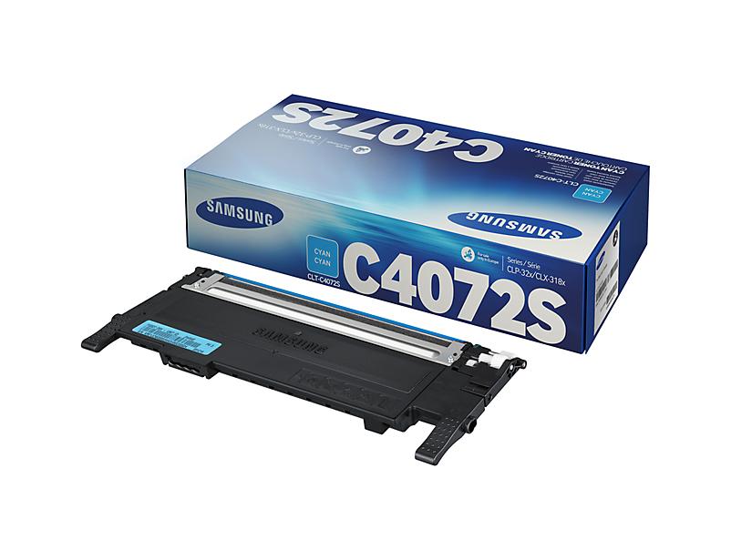 Vorschau: Original Toner Samsung CLT-C4072S für CLX-3185FN usw. cyan