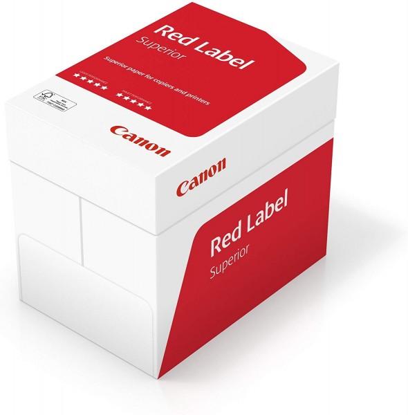 Canon Deutschland Red Label Superior Geschäftspapier, 5x500 Blatt FSC zertifiziert, A4, 80 g/m², all
