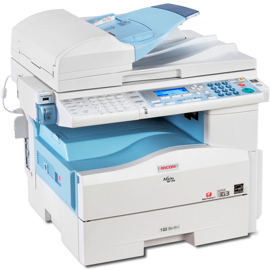 Ricoh Aficio Multifunctional Printer MP 201SPF
