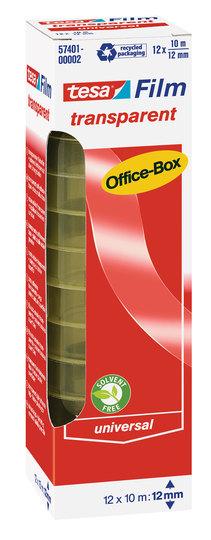 Vorschau: tesa transparent Office-Box 10m x 15mm 10 Rollen
