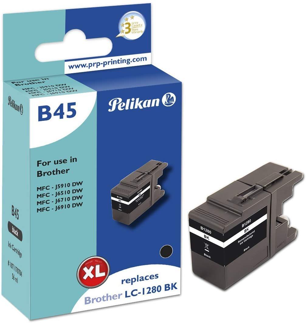 Pelikan Tintenpatrone ersetzt Brother LC-1280XL BK, Black, 2400 Seiten