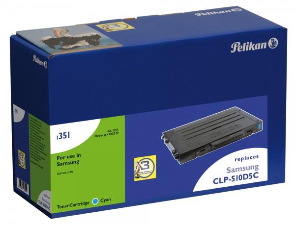 Pelikan Toner 1189 komp. zu CLP-510D5C Samsung CLP-510 cyan