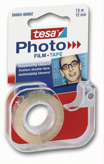 tesa Photo Film + Abroller 7,5m x 12mm