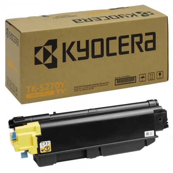 Original Kyocera TK-5270Y yellow Toner für ca. 6.000 Seiten