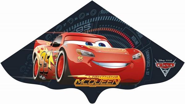 Paul Günther 1183 - Kinderdrachen mit Disney Pixar Cars Motiv, Einleinerdrachen aus robuster PE-Foli