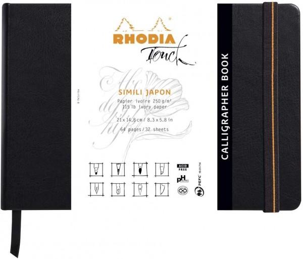 Clairefontaine 116122C – ein Block mit Kopf Rhodia Calligrapher Pad, 50 Blatt, japanisches Kunstpapi
